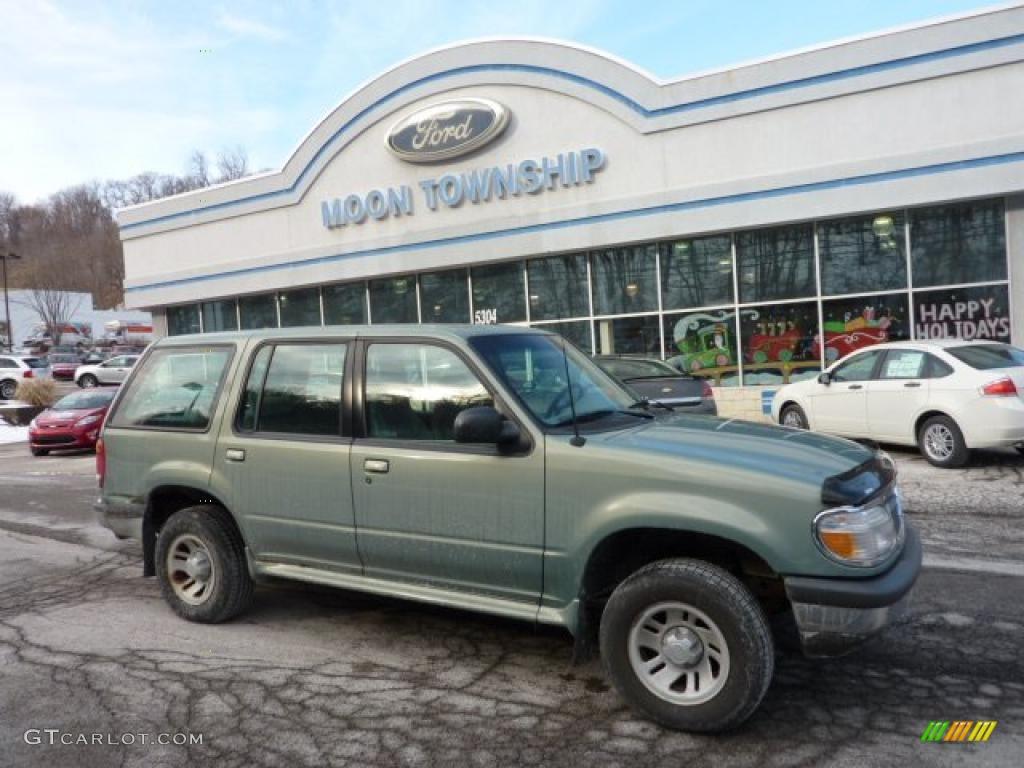 Evergreen frost metallic ford explorer