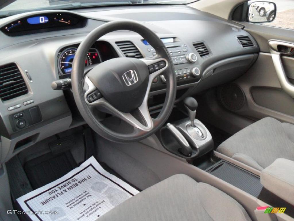 Gray Interior 2010 Honda Civic Ex Coupe Photo 41819099