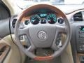 Cashmere/Cocoa Steering Wheel Photo for 2011 Buick Enclave #41822755