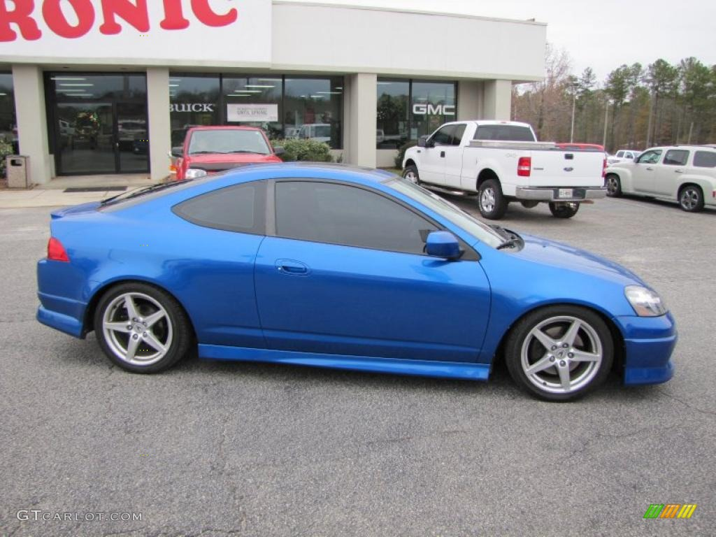vivid blue pearl 2005 acura rsx type s sports coupe exterior photo 41825399. Black Bedroom Furniture Sets. Home Design Ideas