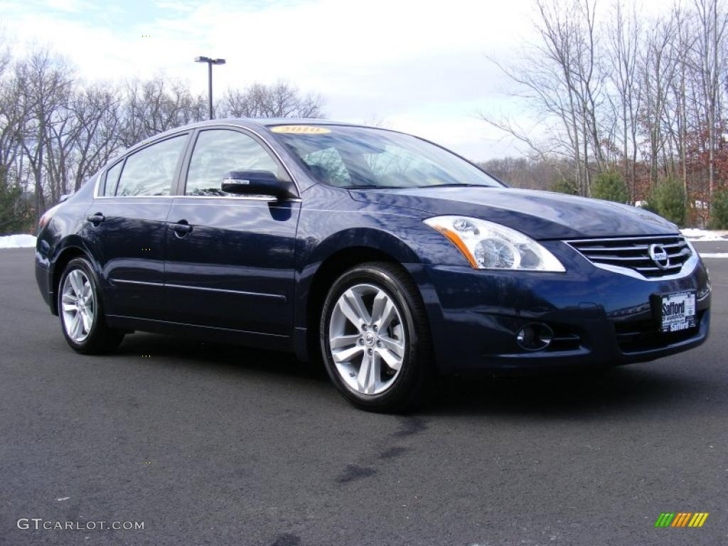 Navy Blue 2010 Nissan Altima 3 5 Sr Exterior Photo