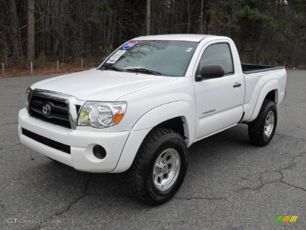 2008 Toyota Tacoma Prerunner Regular Cab Exterior Photos