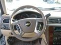 Dark Cashmere/Light Cashmere Steering Wheel Photo for 2011 Chevrolet Silverado 1500 #41837824