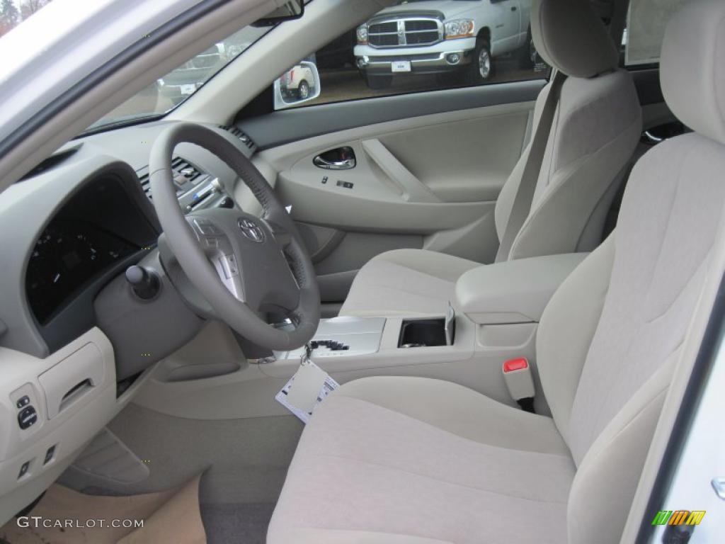 Bisque Interior 2011 Toyota Camry Hybrid Photo 41839569