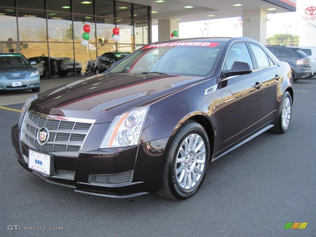 2010 black cherry cadillac cts 3 0 sedan 41791244 photo. Black Bedroom Furniture Sets. Home Design Ideas