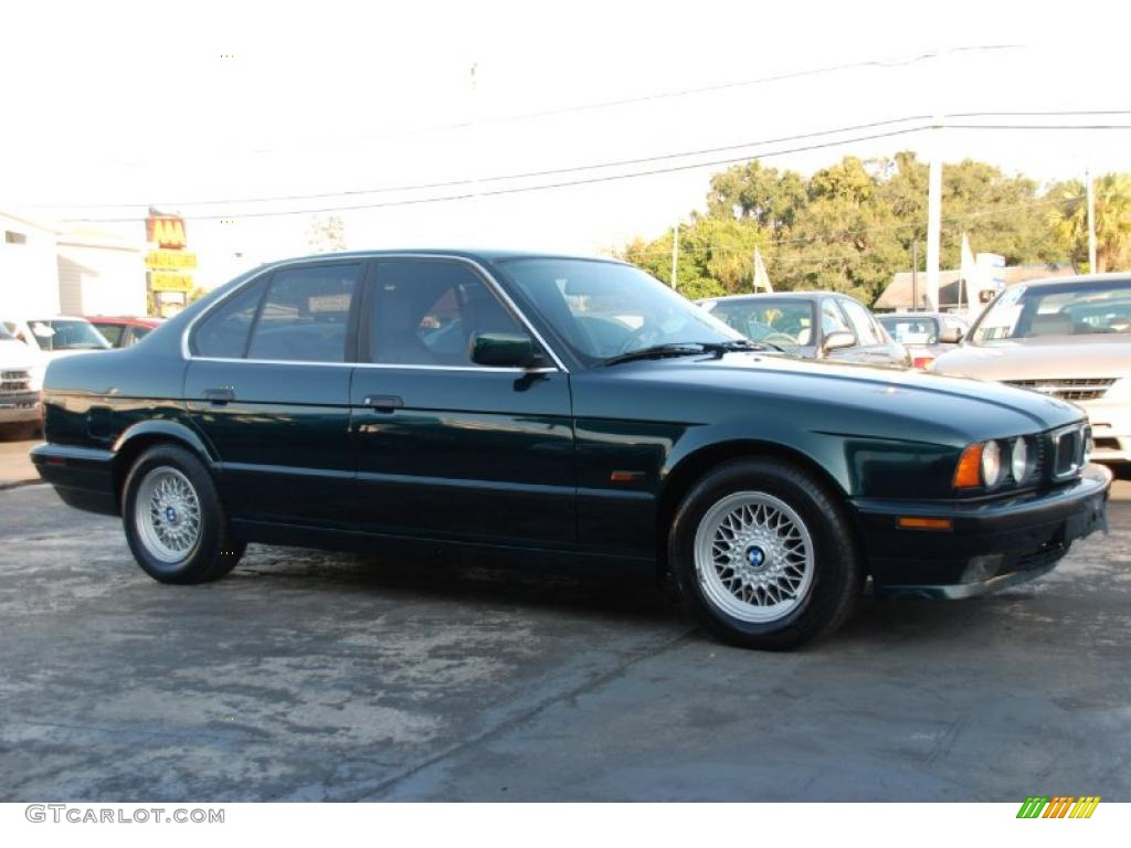 boston green metallic 1995 bmw 5 series 525i sedan exterior photo ...