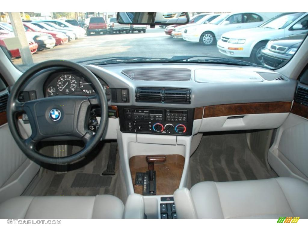 Grey Interior 1995 Bmw 5 Series 525i Sedan Photo 41845341