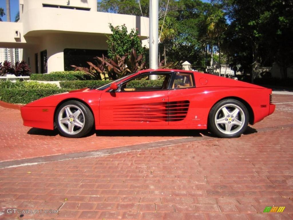 Rosso Corsa 1992 Ferrari 512 Tr Standard 512 Tr Model