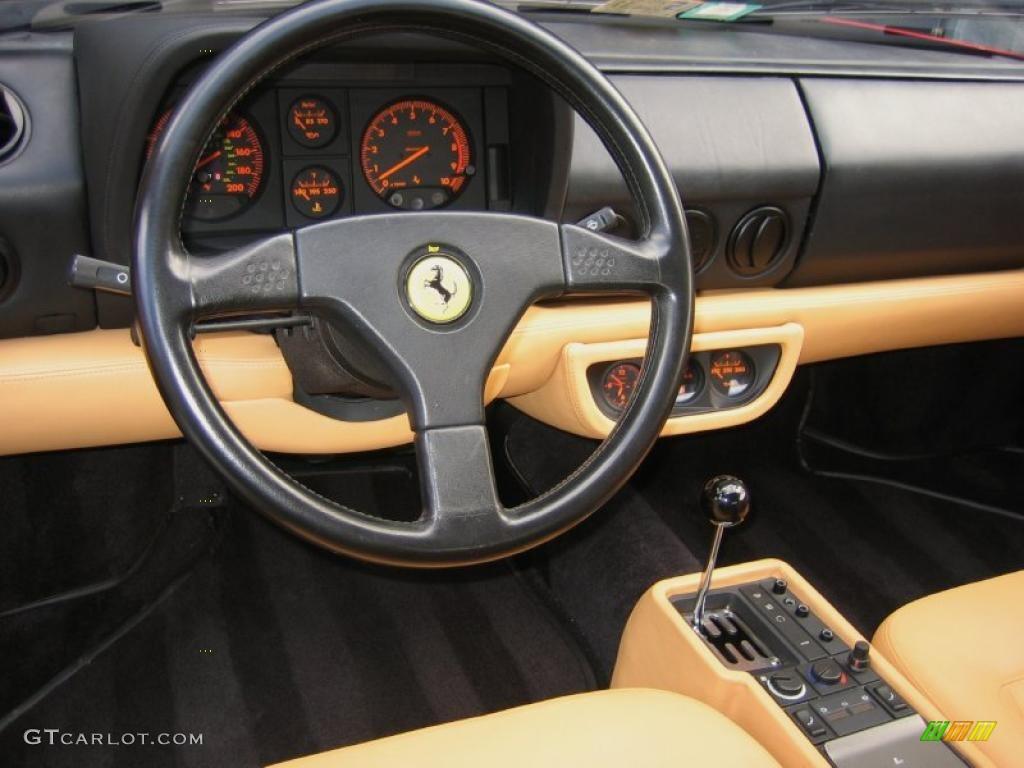 1992 Ferrari 512 Tr Standard 512 Tr Model Beige Dashboard