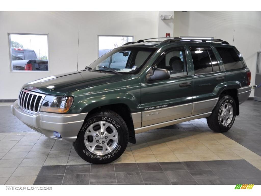 1999 everglade green pearl jeep grand cherokee laredo 4x4 41791045 car color. Black Bedroom Furniture Sets. Home Design Ideas