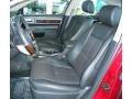 2008 Vivid Red Metallic Lincoln MKZ AWD Sedan  photo #11
