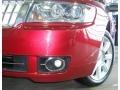 2008 Vivid Red Metallic Lincoln MKZ AWD Sedan  photo #31