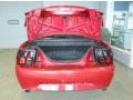 2001 Laser Red Metallic Ford Mustang V6 Convertible  photo #14