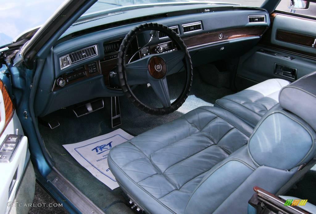 1976 Blue Cadillac Eldorado Convertible 392099 Photo 26 Car Color Galleries
