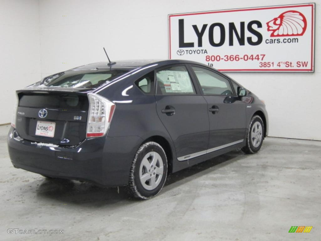 2010 Prius Hybrid Iv Winter Gray Metallic Misty Photo 22