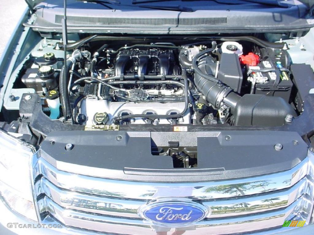2008 Ford Taurus X Limited 3 5l Dohc 24v Vct Duratec V6 Engine Photo  41872261
