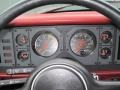 1986 Ford Mustang Red Interior Gauges Photo
