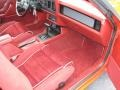 1986 Ford Mustang Red Interior Dashboard Photo