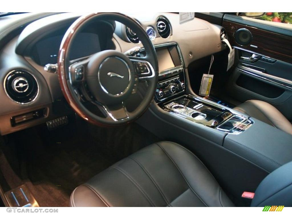 Jet BlackJet Black Interior Jaguar XJ XJL Supersport Photo - 2011 jaguar xj supersport