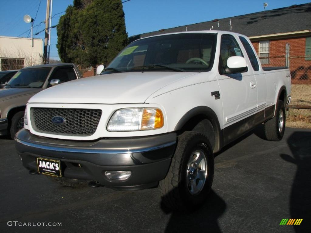 Oxford white ford f150 ford f150 xlt supercab 4x4