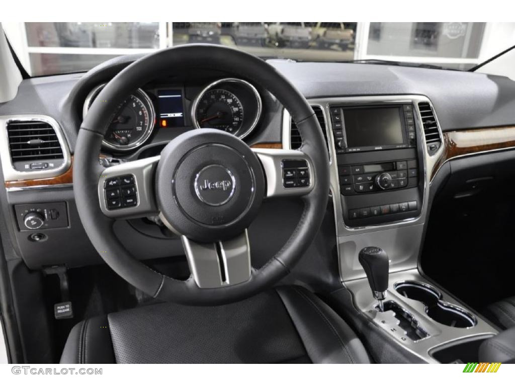 Black Interior 2011 Jeep Grand Cherokee Limited Photo 41919698