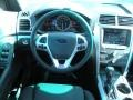 Charcoal Black Steering Wheel Photo for 2011 Ford Explorer #41936130