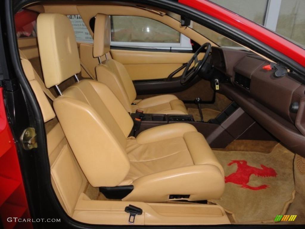 1989 Ferrari Testarossa Standard Testarossa Model Interior