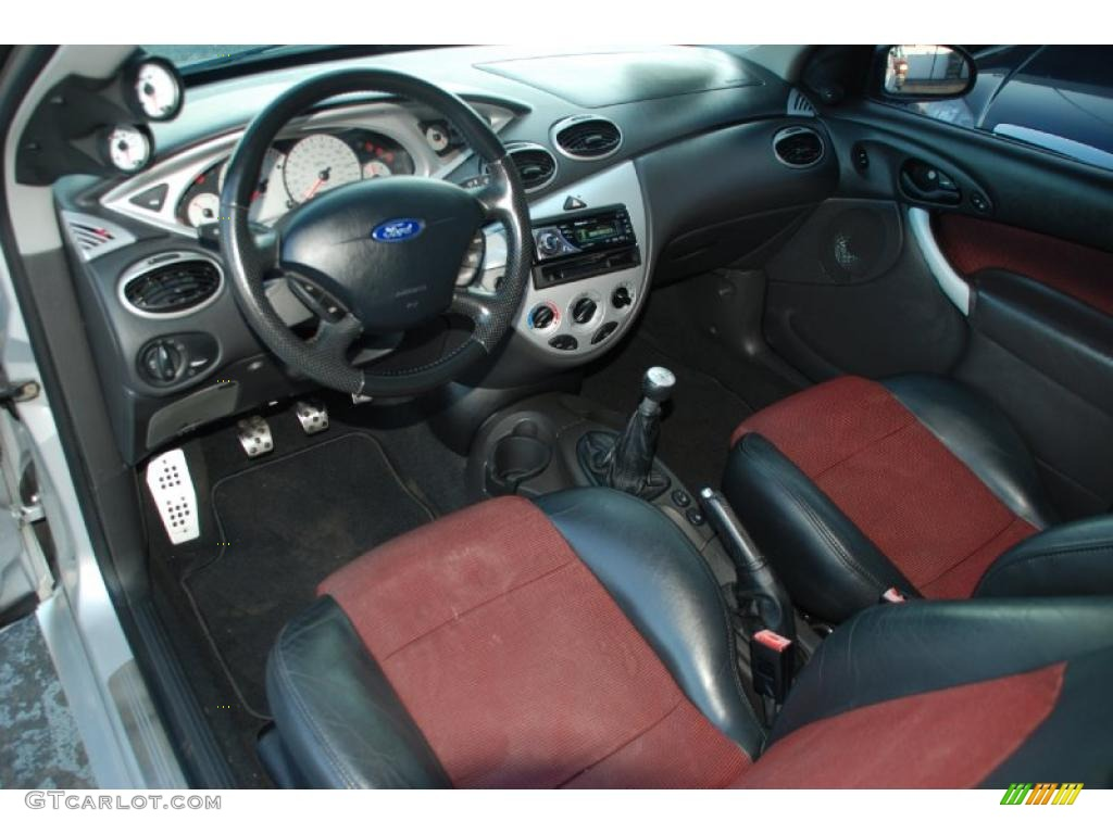 black red interior 2002 ford focus svt coupe photo. Black Bedroom Furniture Sets. Home Design Ideas