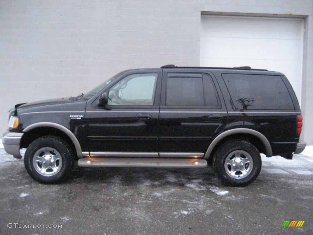 2001 black clearcoat ford expedition eddie bauer 4x4 41934436 photo 3 car. Black Bedroom Furniture Sets. Home Design Ideas