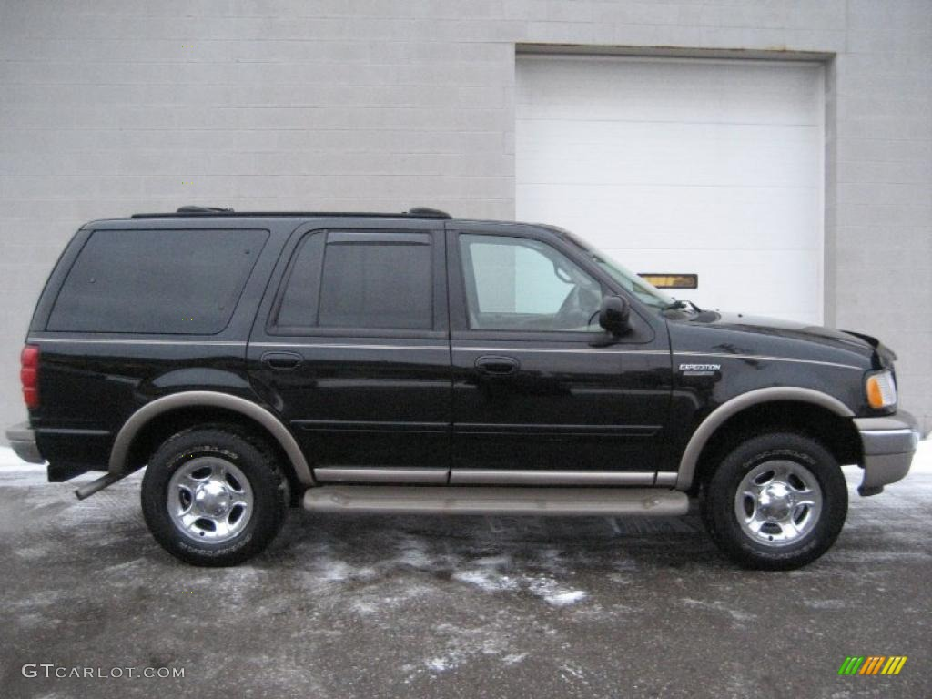 2001 black clearcoat ford expedition eddie bauer 4x4. Black Bedroom Furniture Sets. Home Design Ideas