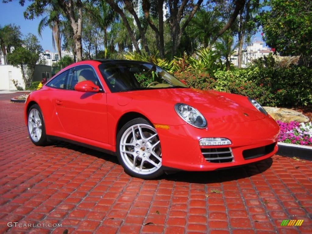 2009 Guards Red Porsche 911 Targa 4 41934927 Gtcarlot