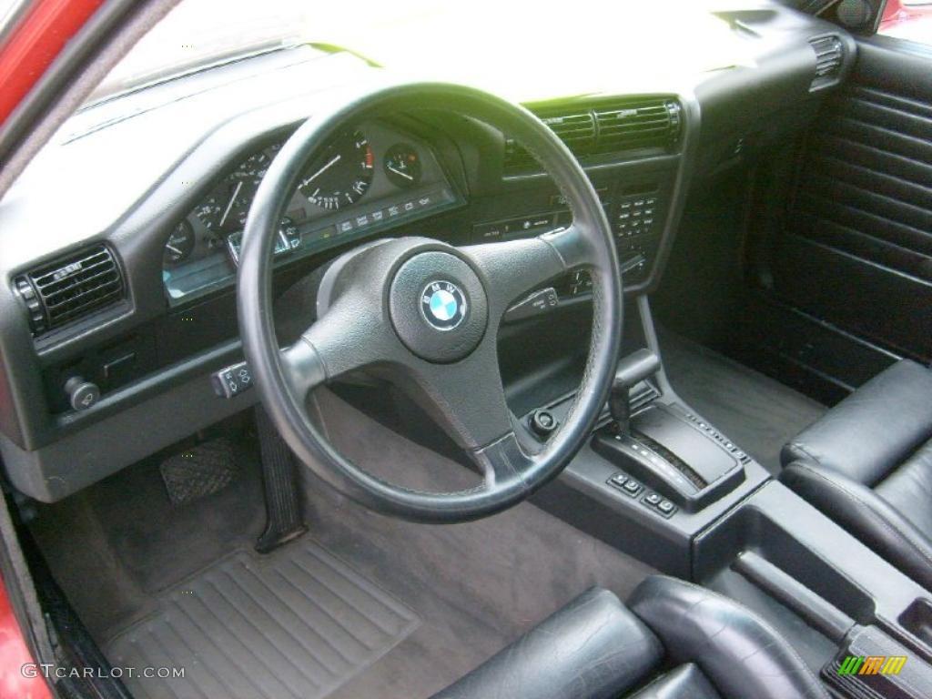 Black Interior 1989 Bmw 3 Series 325i Convertible Photo 41965464