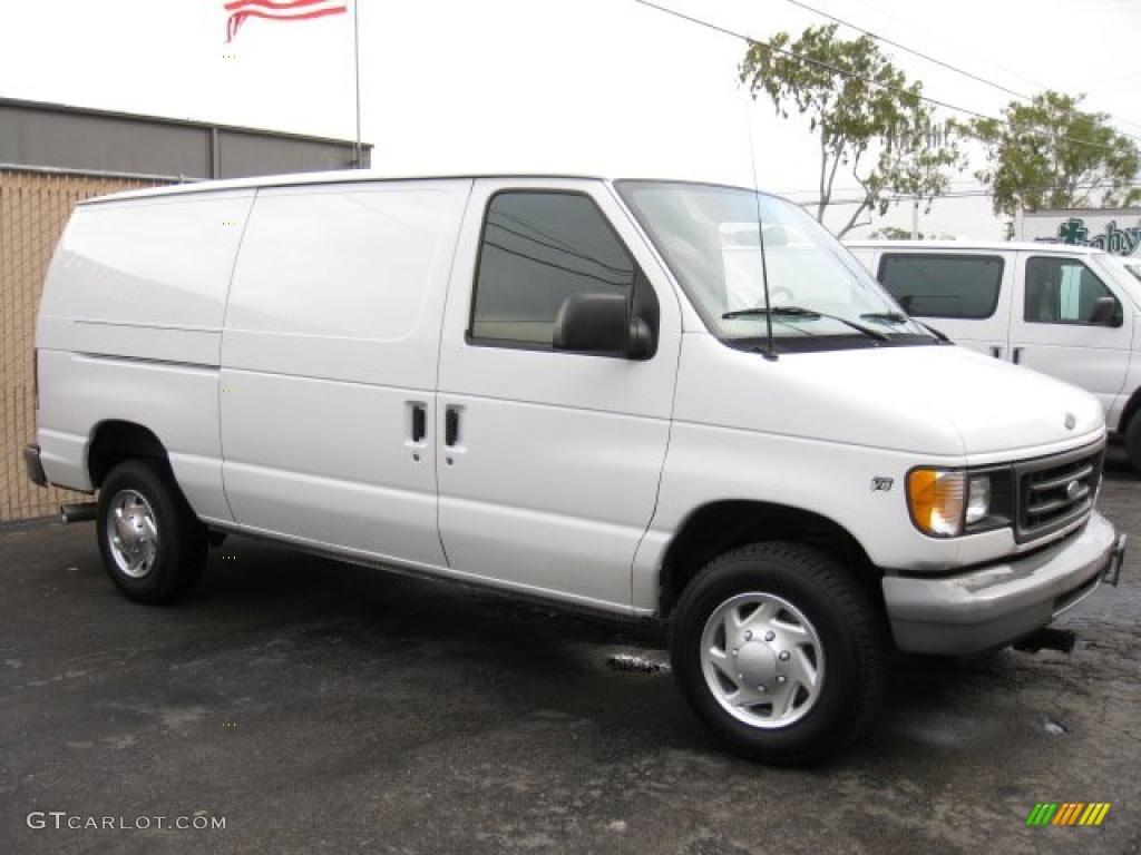 2001 oxford white ford e series van e250 cargo 41934481 photo 4 car color. Black Bedroom Furniture Sets. Home Design Ideas
