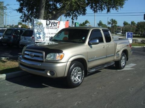 2003 Toyota Tundra SR5 TRD Access Cab Data, Info and Specs
