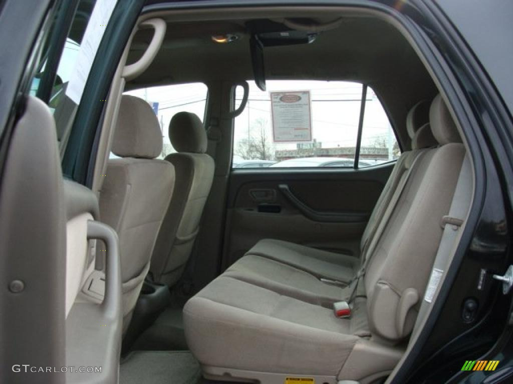 2007 Black Toyota Sequoia Sr5 4wd 41934768 Photo 13 Car Color Galleries