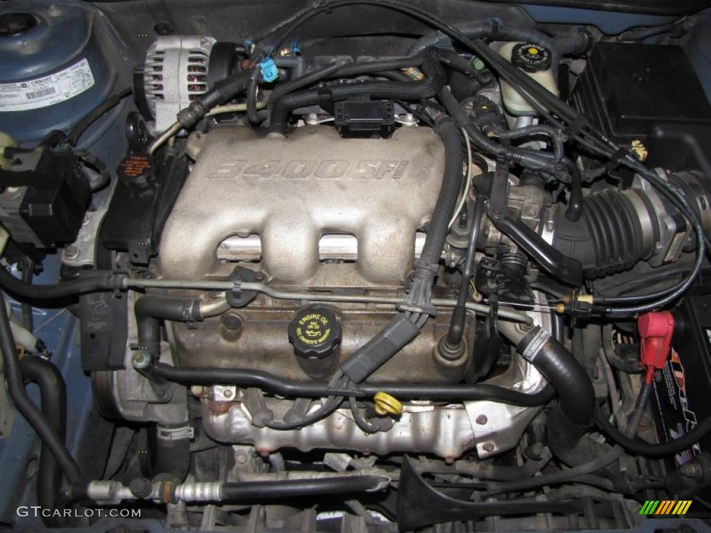 1999 Oldsmobile Alero GL Sedan 3.4 Liter OHV 12-Valve V6 Engine Photo  #41994988