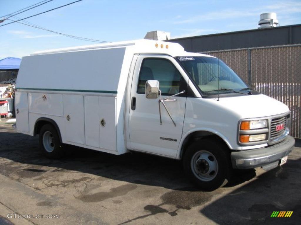 2001 Gmc Savana Cutaway 3500 Commercial Utility Truck