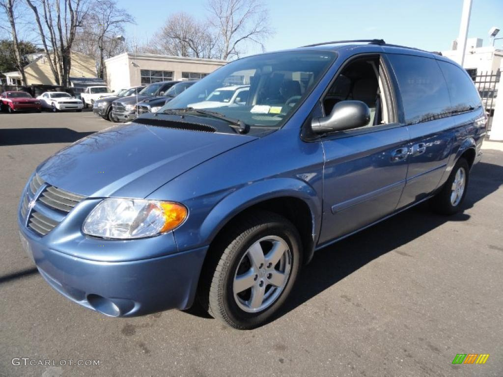 2007 Marine Blue Pearl Dodge Grand Caravan Sxt 42034221