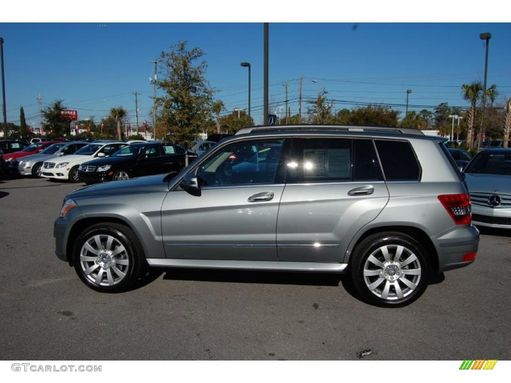 2010 palladium silver metallic mercedes benz glk 350 for 2010 mercedes benz glk