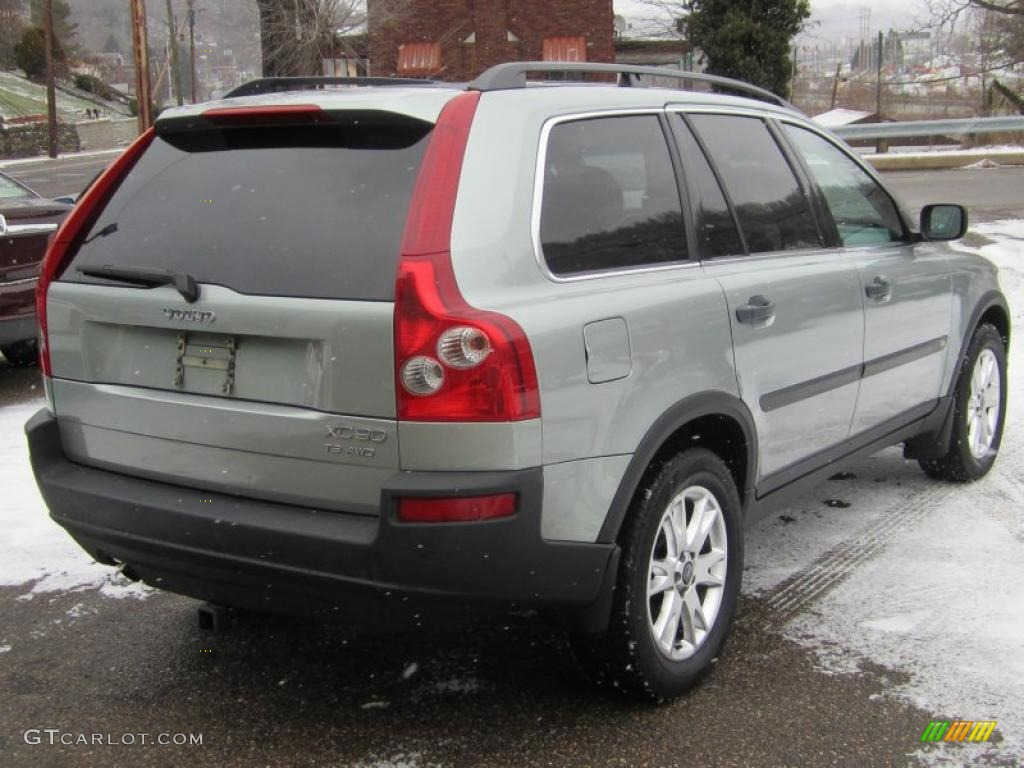silver metallic 2004 volvo xc90 t6 awd exterior photo 42054406. Black Bedroom Furniture Sets. Home Design Ideas