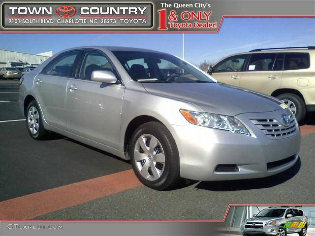 2008 classic silver metallic toyota camry ce 42050103 car color galleries. Black Bedroom Furniture Sets. Home Design Ideas