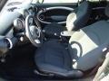 Checkered Carbon Black/Black Interior Photo for 2009 Mini Cooper #42069987