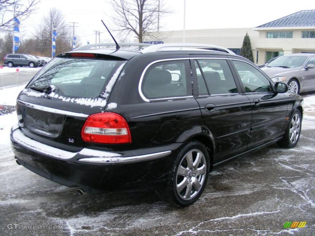 ebony black 2006 jaguar x type 3 0 sport wagon exterior photo 42070947. Black Bedroom Furniture Sets. Home Design Ideas