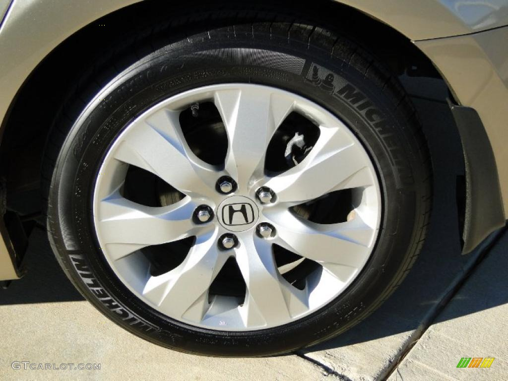 2009 Honda Accord Ex L Sedan Wheel Photo 42080515