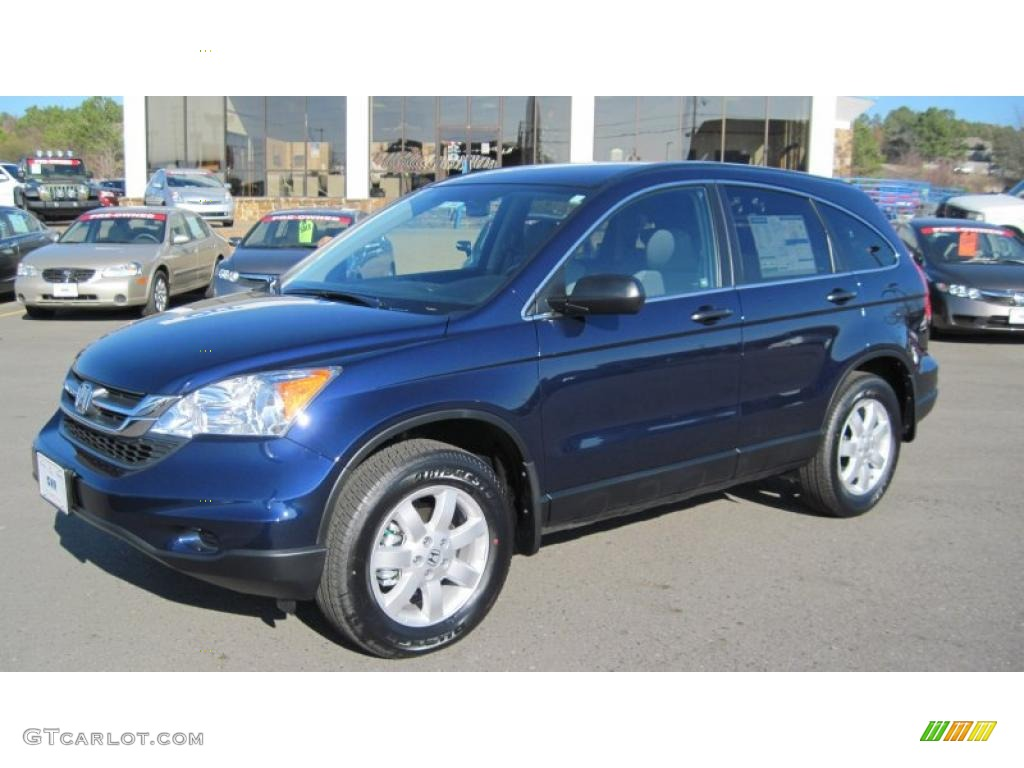 2011 CR-V SE - Royal Blue Pearl / Gray photo #1
