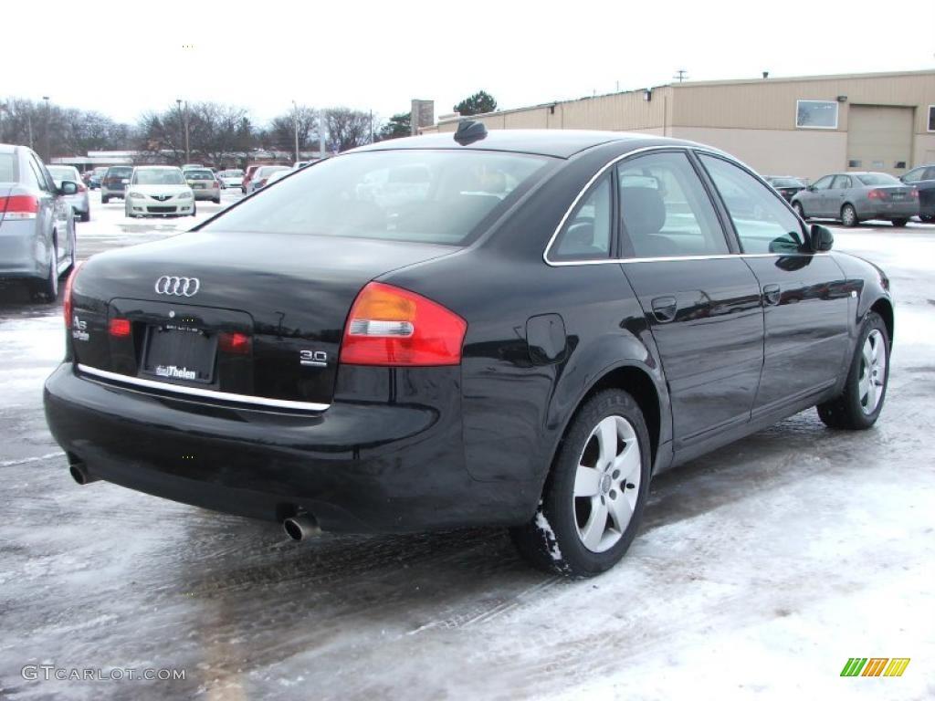 Brilliant Black 2004 Audi A6 3.0 quattro Sedan Exterior ...  Brilliant Black...