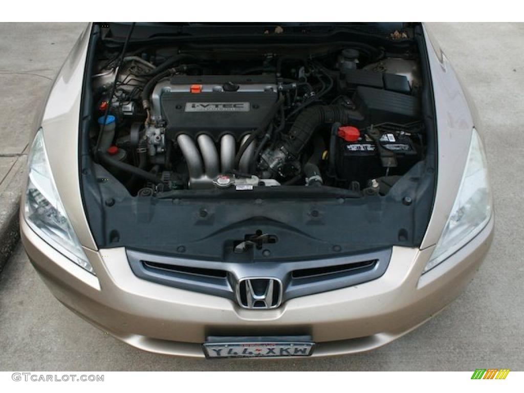 2004 Honda Accord Lx Sedan 2 4 Liter Dohc 16 Valve I Vtec Cylinder Engine Photo 42089963
