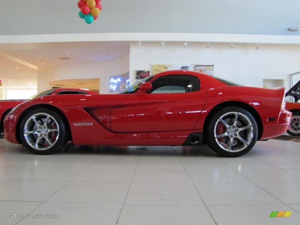 Viper Red 2009 Dodge Srt 10 Coupe Exterior Photo 42095355