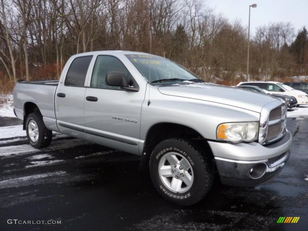 Bright Silver Metallic Dodge Ram 1500