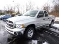 2002 Bright Silver Metallic Dodge Ram 1500 SLT Quad Cab 4x4  photo #3